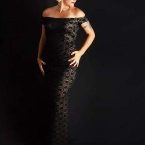 Alex Evening brand gown